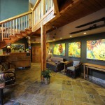 Paintbox Lodge lobby