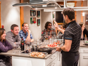 Cooking Classes at the Paintbox Lodge