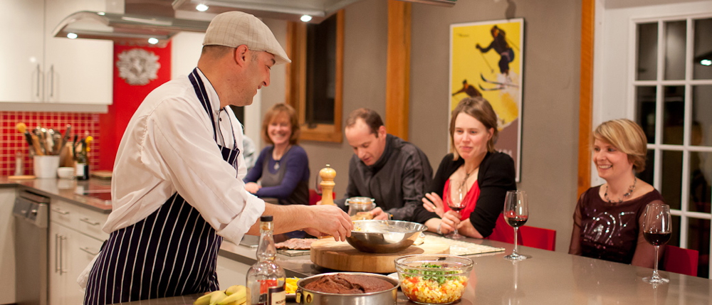 Culinary Mountain Adventure: Book a Cooking Class and a sleepover. Enjoy 25% off on your accommodation for the night of your cooking class.