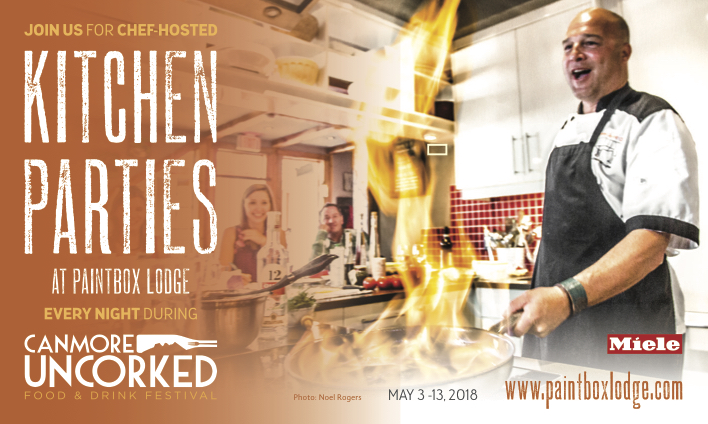 SOLD OUT! Canmore Uncorked 2018 - Paintbox Lodge